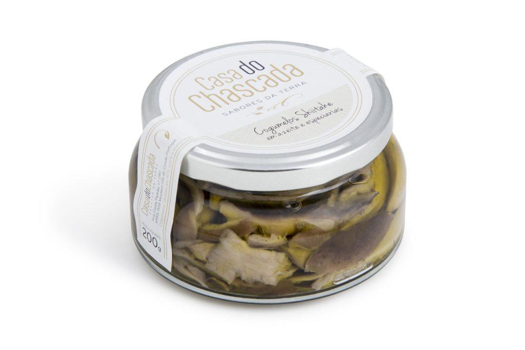 Casa do Chascada - Cogumelos Shiitake em azeite e especiarias